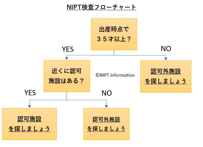 NIPTフローチャート